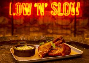 Pit-Smoked BBQ Chicken