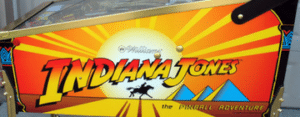 Indiana Jones Pinball Barcadia